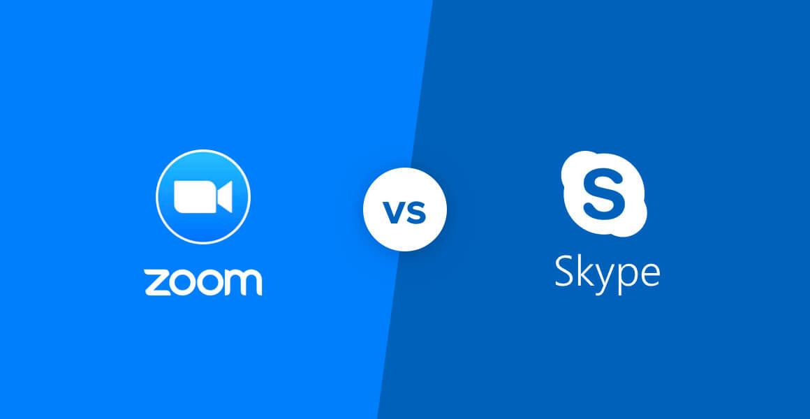 مقایسه زوم و اسکایپ