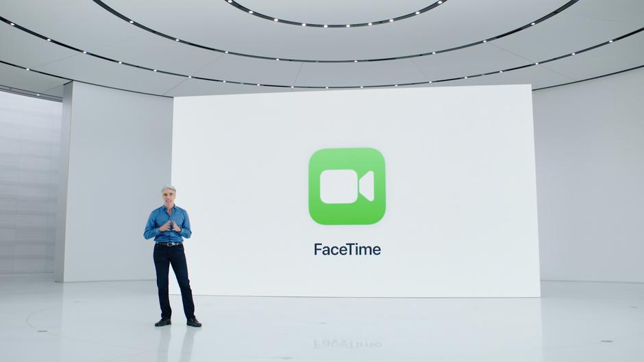 ویدئو کنفرانس facetime