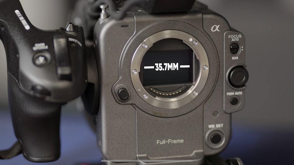 اندازه سنسور دوربین