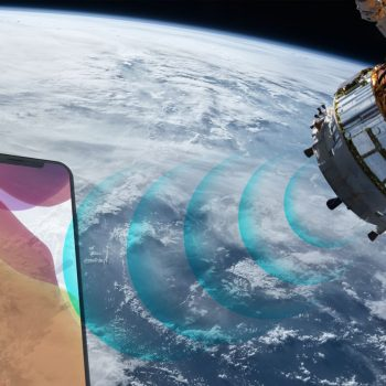تماس ماهواره ای آیفون 13
